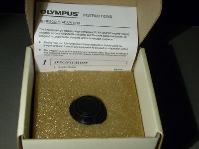New In Box Olympus Ak2-10c Borescope Fiberscope Endoscope 11 C-mount Adaptor