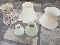Vintage lampshades retro floral shabby chic
