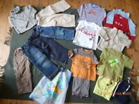 Selection of boys clothes age 3 years