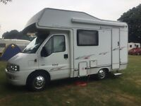 PEUGEOT BOXER 330LX. 5 BERTH **VERY LOW MILEAGE 14,900 MILES**