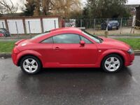Red Audi TT 1.8 Turbo. MOT Until June 2018. Good Condition.