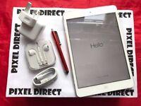 Apple iPad Mini 2 128GB, WiFi + Cellular, White, Unlocked, +WARRANTY, NO OFFERS