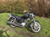 Yamaha ybr 125 cusom