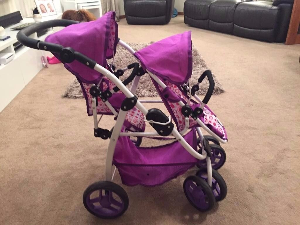 Dolls Double Buggy