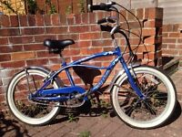 BRUISER MISSION CRUISER BIKE WITH NEW LIGHT SET AND LOCK