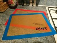 NEW Kitzini Silicone Baking Mats, set of 2