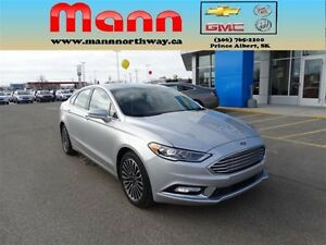 2017 Ford Fusion SE - AWD, Leather interior, Bluetooth, Rear vie