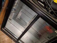 Double door bar fridge