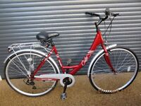 """LADIES APOLLO DUTCH STYLE TOWN / SHOPPING BIKE IN EXCELLENT CONDITION..(FRAME SIZE. 19"""" / 48cm.)"""