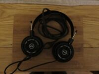 pair of grado sr80 headphones