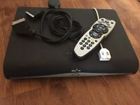 Samsung Sky HD box 160 hard drive come with remote
