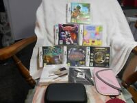 Nintendo DS Lite with 6 Games, 2 Cases Charger Nintendo DS Lite Essential pack