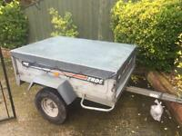 Larger Erde 142 Tipping Trailer + cover 5ft x 3ft 6""
