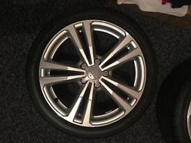 Audi A3 2016 Wheels, 4x 18's with Hankook tyres
