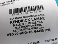 2 Kendrick Lamar Tickets Glasgow