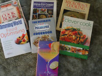 Cookery Books- variety, some famous chefs- price range £5 - 15 see description