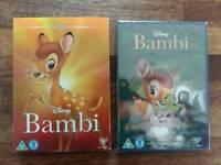 Disney BAMBI dvd still sealed in packaging