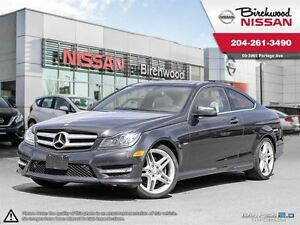 2012 Mercedes-Benz C-Class C350 Coupe Local Trade , Great Condit