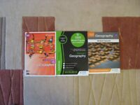 THREE NATIONAL 5 GEOGRAPHY STUDY AND REVISION BOOKS