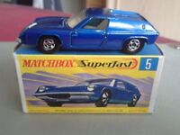 Wanted Matchbox Superfasts