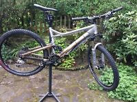 Giant Trance 3 XC Mountain Bike. XT. Maestro rear Suspension. Rockshox front shocks. Medium frame