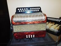 Hohner Black Dot BC Tunning accordion great condition quick sale £375