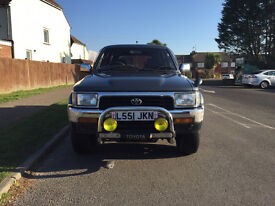 Toyota Hilux Surf 3.0 5dr 1993 (L reg), 4x4 £2,995 p/x welcome