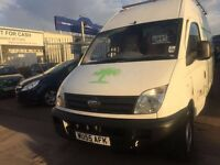 2006 (06) LDV MAXUS VAN CHEAP BARGAIN SUPERD DRIVE lONG MOT ONE FROMER KEEPER!
