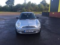 MINI ONE 1.6cc 3 door h/back 56/2006 3 former keepers 112k service history upto 95k/invoices/old mot