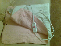 Electric blanket single