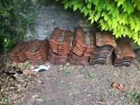 50 Red roof tiles.