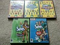 Sims 2 expansion and stuff packs