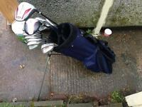 Full golf set + bag excellent condition