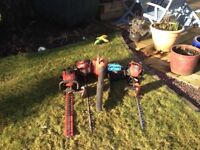 Hedge trimmers/blower/chainsaw spares or repairs