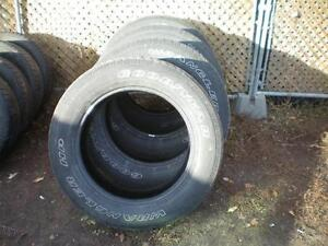 4 Goodyear Wrangler HP Tires * P275 60R20 114S * $90.00 for 4 .  M+S / All Season Tires ( used tires )