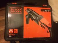 Black & Decker 600W SDS HAMMER DRILL
