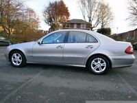 LUXURY MERCEDES 2007 CLASS E220 CDI Avantgarde Tip Auto Full Black Leather int*May PX with 7seater