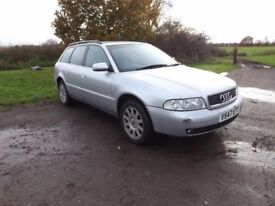 Audi A4 Estate Automatic 2.4 1999/V Long MOT
