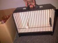 Show Box Transport Carry Case Cage Birds Exeter