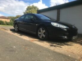 Peugeot 407 coupe 204 bhp automatic