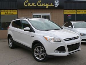 2013 Ford Escape SEL - Remote Start, Vista Roof, H. Leather, 4x4