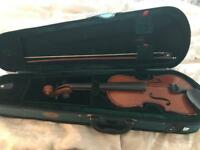 Half size violin good condition