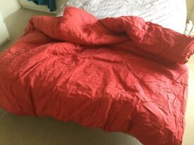Double quilt,pillows and bedding