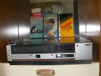 VCR CASSETTE VIDEO RECORDER