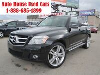 2010 Mercedes-Benz GLK-Class 350, Sunroof, Leather, AWD