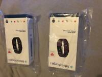 2 X brand new Fitbit charge 2