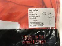 """Pioneer Orange F/R Coverall - 40"""""""