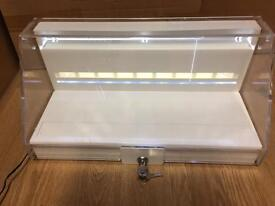 6x display unit or stands with light