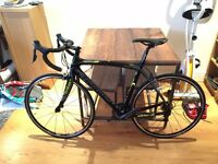 Wilier Zero 9 Ultegra Full Carbon Road Bike Bicycle Black/Grey/Yellow (Large)