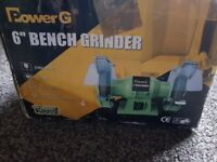"New Power G 6"" Bench Grinder"